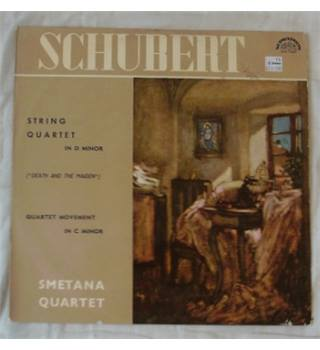 Schubert Death & The Maiden Quartet Smetana Quartet