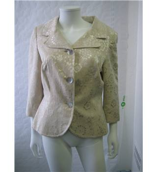 Penny Plain - Size: 14 - Cream / ivory - Casual jacket / coat