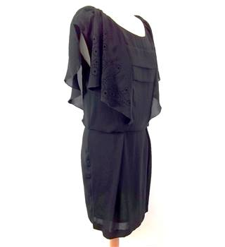 COMPTOIR DES COTONNIERS - Size: 38 - Black - Knee length dress