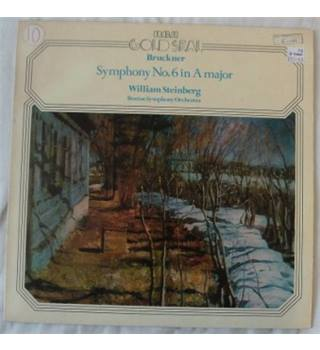 Bruckner - Boston Symphony Orchestra / Steinberg ‎– Symphony No. 6 In A Major