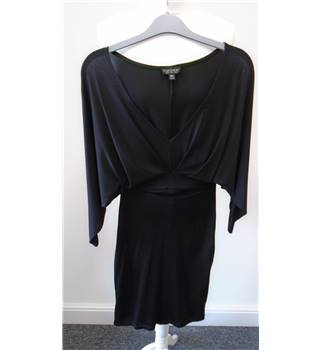 Topshop - Size: 6 - Black Dress