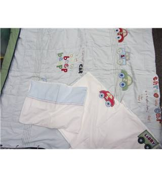 Mothercare 100% cotton bedding matching set for single bed