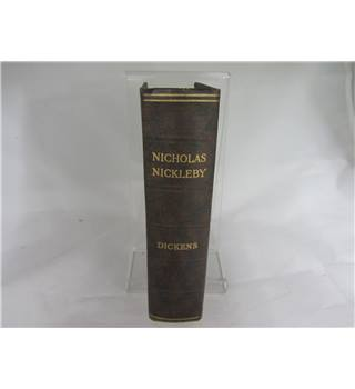 The life adventures  Nicholas Nickleby by Charles Dickens book