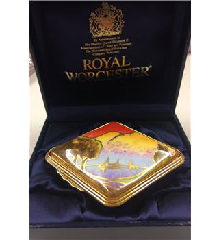 Sails at sunset box - Royal Worcester