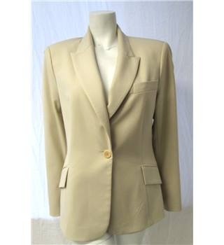 Zara Size 16 Cream Jacket Zara - Size: 16 - Cream / ivory
