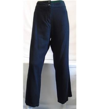Marks & Spencer Woman Trousers - Size - 16 (Short) - Black