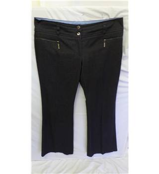 Jasper Conran - size 16 - navy blue - trousers