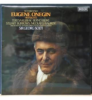 Eugene Onegin Highlights Pyotr Ilyich Tchaikovsky / Georg Solti / Orchestra of the Royal Opera House, Covent Garden - SET 599