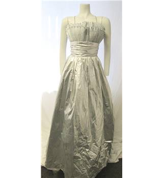 John Charles Size 10 Silver Evening Gown John Charles - Size: 10 - Metallics