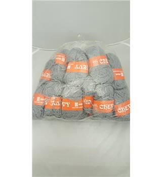 27 balls of Grey Chevy Wool Grey