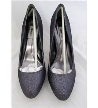 Dune Size 41 Sparkly Shoes Dune - Size: 8 - Blue