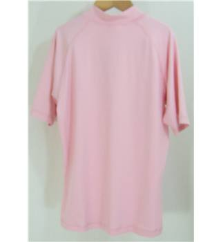 Roxy - Size: 8 - Pink - short sleeve - Top