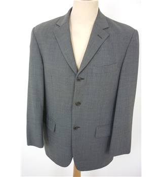 "M & S  Size: M, 38"" chest, regular fit Basalt Grey Smart/Stylish Wool Single  Breasted Jacket."