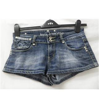 Jane Norman - Size: 10 - Denim blue - Hot pants