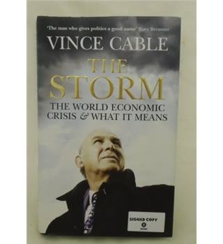 The Storm - signed copy