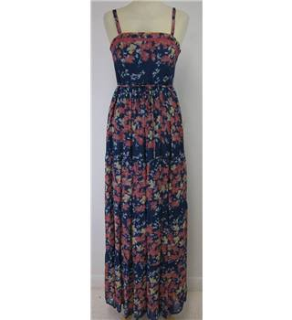 Monsoon size: 6 blue and pink maxi dress