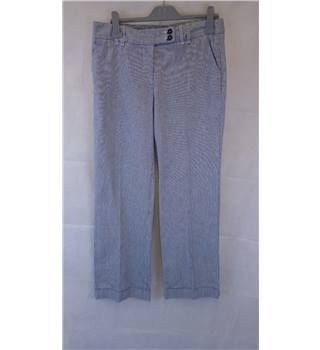 "STYLISH BODEN PINSTRIPE TROUSERS SIZE 14L Boden - Size: 34"" - Multi-coloured - Trousers"