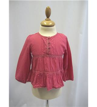 Monsoon - Size: 2 - 3 Years - Pink - Top