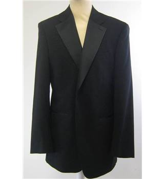 1860 By Greenwoods - Size: 38L - Black - Single breasted suit jacket