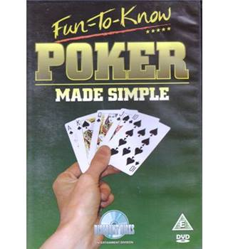 Fun-to-Know  Poker Made Simple