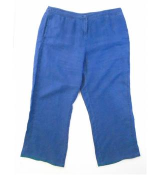 Viyella - Size: 18 - Blue - Trousers