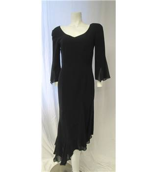 Luis Civit Size 10 Black Evening Dress Luis Civit - Size: 10 - Black