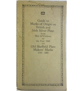 British and Irish Silver Assay Office Marks 1544-1968