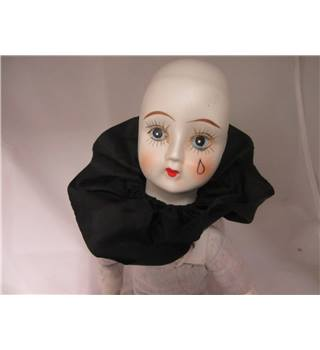 Rare and Collectable  Ceramic Head and neck doll