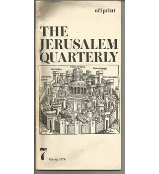 The Jerusalem Quarterly
