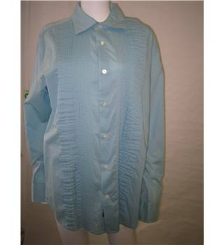 Banana Republic sky blue cotton shirt - size L