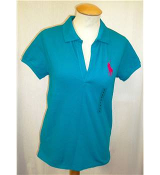 BNWT Ralph Lauren - Polo - Golf  Size S  Aqua Blue Golf shirt