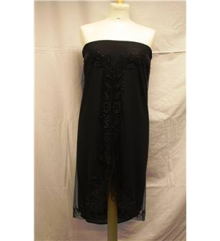 French Connection - Size: 14 - Black - Evening dress