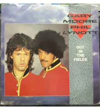 Gary Moore & Phil Lynott ‎– Out In The Fields