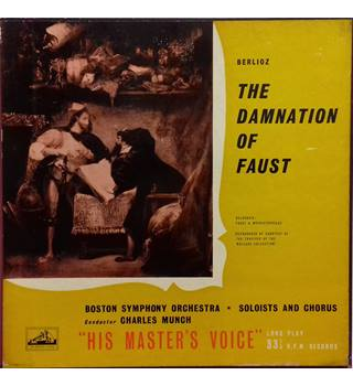 Hector Berlioz ‎– The Damnation Of Faust Boston Symphony Orchestra, Charles Munch - ALP 1225-7