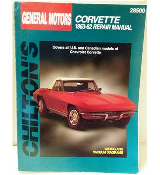 General Motors Corvette 1963-82 Repair Manual