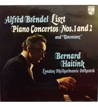 "Liszt Piano Concertos Nos. 1 And 2 And ""Totentanz"" Alfred Brendel, Bernard Haitink, London Philharmonic Orchestra - 6866 037"