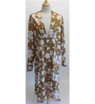Floral dress by Noa Noa noa noa - Size: XL - Brown