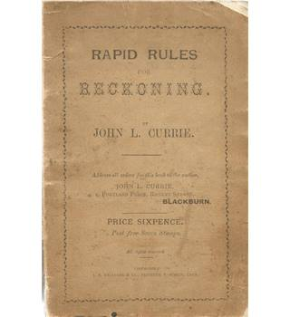 Rapid Rules for Reckoning