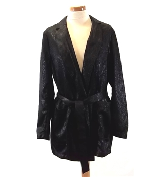 BNWT - H&M - Size: 8 - Black - Jacket