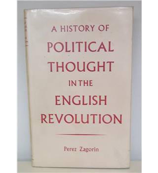 A History of Political Thought in the English Revolution