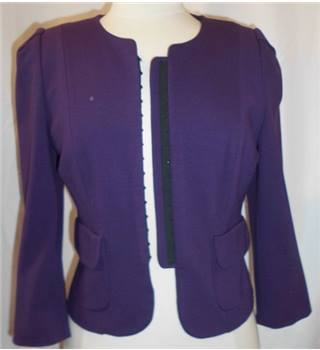 Phase Eight - Purple - Smart jacket - Size: 12