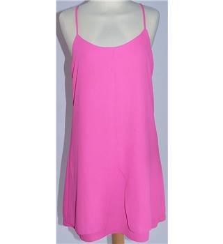 Topshop - Size 10 - Pink - Long Top