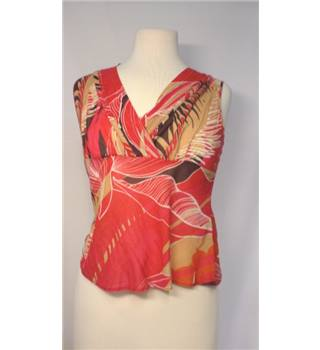 Principles - Size: 10 - Red Mix - Sleeveless top