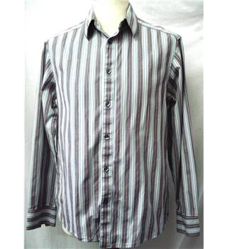 Autograph - Size: S - Grey Pinstripe - Long sleeved Shirt