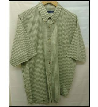 Springfield - Size: L - Green - Short sleeved