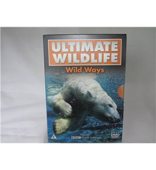 Ultimate Wildlife Wild Ways DVD 3 disc
