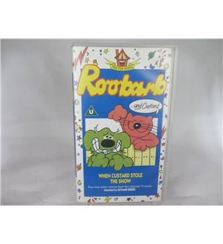 The Fun House Roobarb and Custard VHS Video