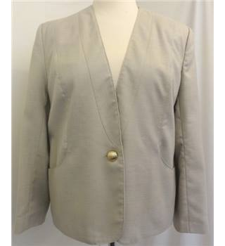 Miss Smith - Size: 16 - Beige - Smart jacket / coat