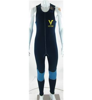 Victory size: S navy blue sleeveless wetsuit
