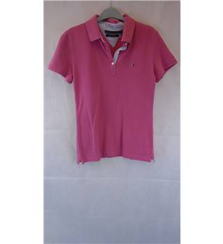 FASHIONABLE  TOMMY HILFIGER POLO, SIZE M TOMMY HILFIGER - Size: M - Pink - Polo shirt